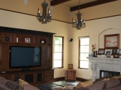Custom interior, Spanish-style home, Pasadena, CA