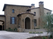 New construction, Tuscan-style home, Glendora, CA