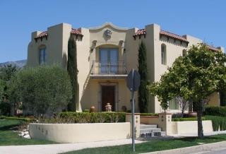 New construction, Spanish-style home, Pasadena, CA